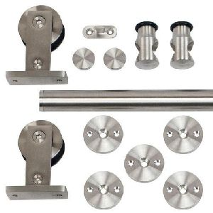 Stainless Steel Rolling Door Hardware Kit