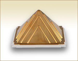 Vastu Copper Pyramid for Car Safety
