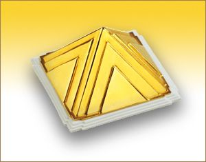 Vastu Gold Pyramid for Car Safety