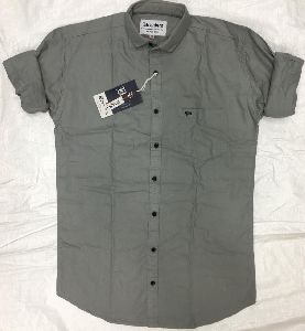 Mens Plain Casual Shirts