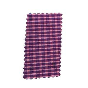 Indigo Check Shirting Fabric