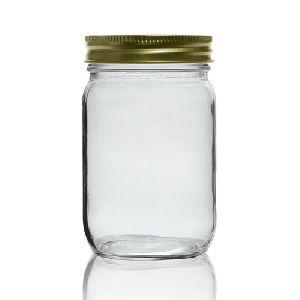 Honey Glass Jar (Round 250 ml)