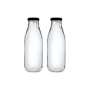 Milk Glass Bottles (300 ml)