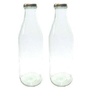 Milk Glass Bottles (Plain)
