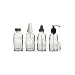 White Spray Glass Bottles