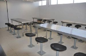 Stainless Steel Canteen Dinning Table