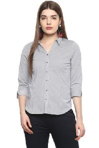 Ladies Cotton Shirt