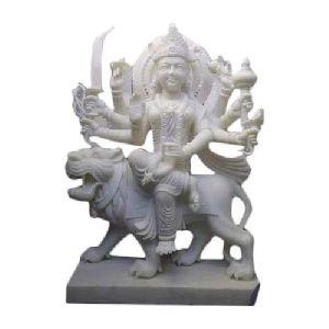 24 Inch Marble Durga Maa Statue