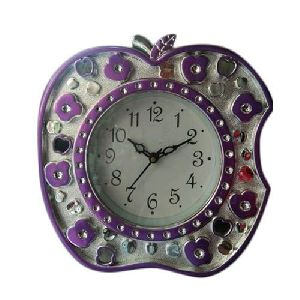 Apple Shaped Wall Clock