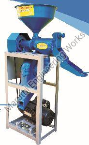 Mini Rice Mill & Bran Powder Machine