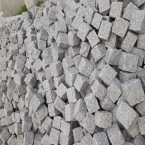 Grey Granite Cobblestone