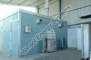 Forced Hot Air Treatment Plant