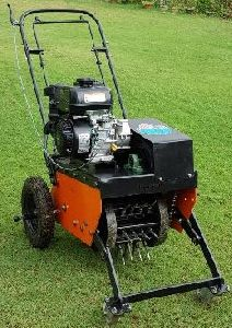 Lawn Spike Aerator with Petrol Engine