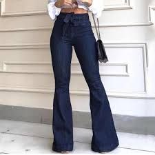 Ladies Flared Jeans