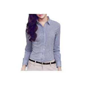 Ladies Full Sleeves Shirt