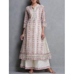 Ladies Palazzo Suit