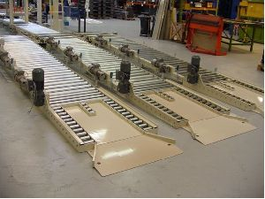 Level Pallet Roller Conveyor