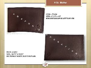 Leather Blotter