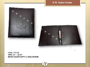 Ring Binder Menu Folder