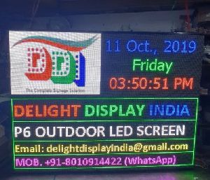 P6 Advertising LED Display Screen