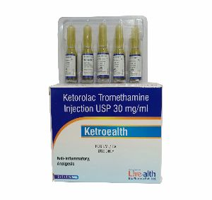 Ketorolac Tromethamine Injection
