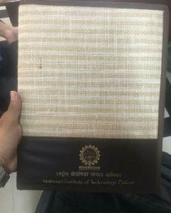Jute Convocation Folder