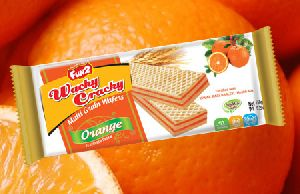 Orange Multi Grain Wafer Biscuits