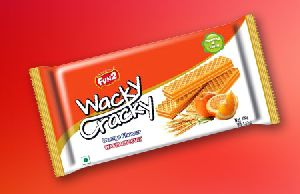 Orange Wafer Biscuits