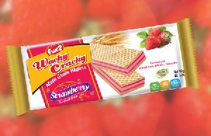 Strawberry Multi Grain Wafer Biscuits