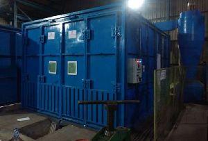 Full Floor Screw Conveyor Type Blast Room System