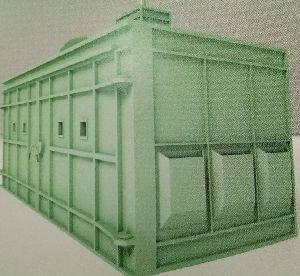 H-Shape Mechanical Screw Conveyor Type Blast Room System