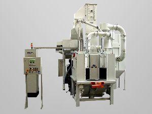 Airless Indexing Table Type Shot Peening Machine