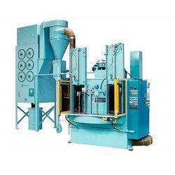 Pneumatic Indexing Table Type Shot Peening Machine