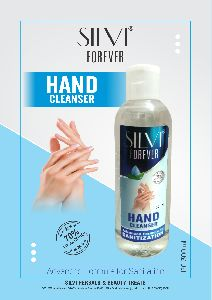 300ml Silvi Hand Cleanser Gel with Flip Top Cap