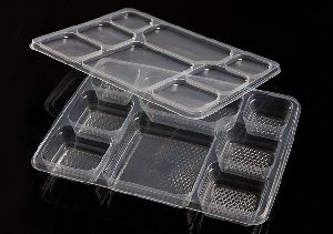 Disposable Sealable Meal Tray