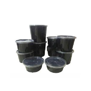 Molded Round Container