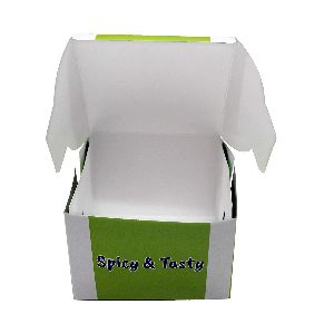Paper Burger Packaging Box