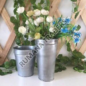 Aluminium Flower Pot