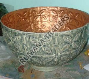 Metal Serving Bowl