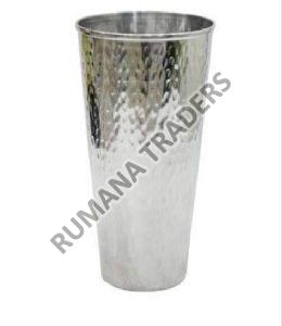 Steel Hammered Glass