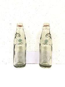 Embossed Goli Soda Glass Bottles