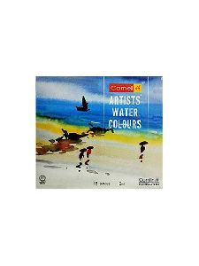 Camlin Kokuyo Artist's Water Color - 9ml Each, 18 Shades