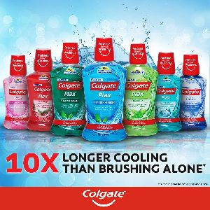 Colgate Plax  Mouthwash - No Alcohol No Burning Taste