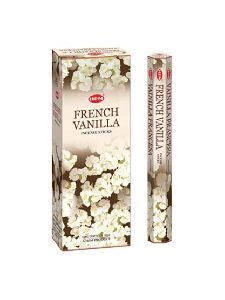 HEM FRENCH VANILLA INCENSE STICKS 120 STICKS BOX