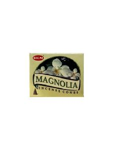 Hem Magnolia Incense Cones – 12 Boxes