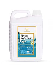 Khadi Natural Aloe Vera & Lemon Hand Sanitizer-5000ml (70% alcohol) (5 L)