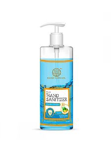Khadi Natural Aloe Vera & Lemon Hand Sanitizer (70% alcohol) 500 ml
