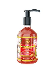 Khadi Natural Anti Germ Rose Hand Wash (300ml)
