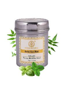 Khadi Neem, Basil and Mint Face Mask 50g