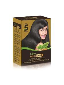 Nisha Quick Hair Color 10g (Pack of 6) without brush